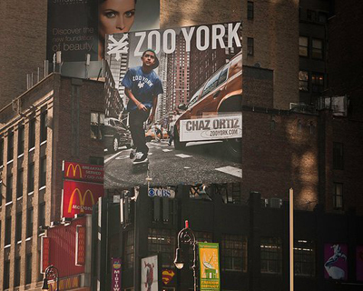 Chaz Ortiz – Zoo York Billboard (2011)
