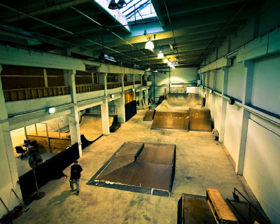 Drop-In Skate Park Relocated (2012)