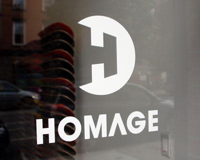 The New Homage Skate Shop (2012)