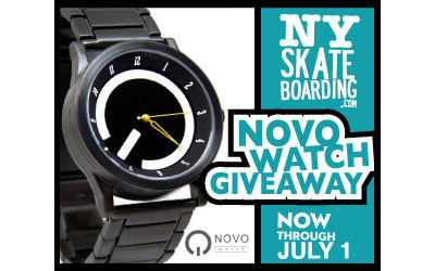 NOVO Watch Giveaway – Last Day to Enter (2012)