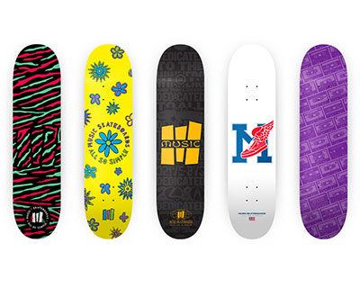 Music Skateboards: All So Simple Series (2013)