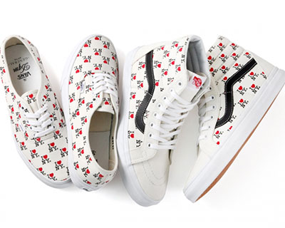 "ee1a857a17eb75 Collaboration  DQM x Vans ""I Love NY"" (2013)"