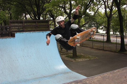 Riverside Skate Park Now Open (2014)