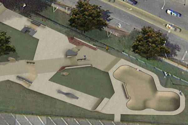 Newburgh Skate Park Draft Design (2014)