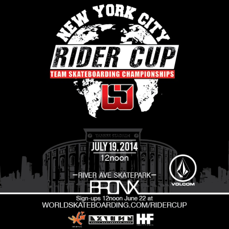 Tomorrow: Rider Cup NYC Contest Comes to the Bronx (2014)