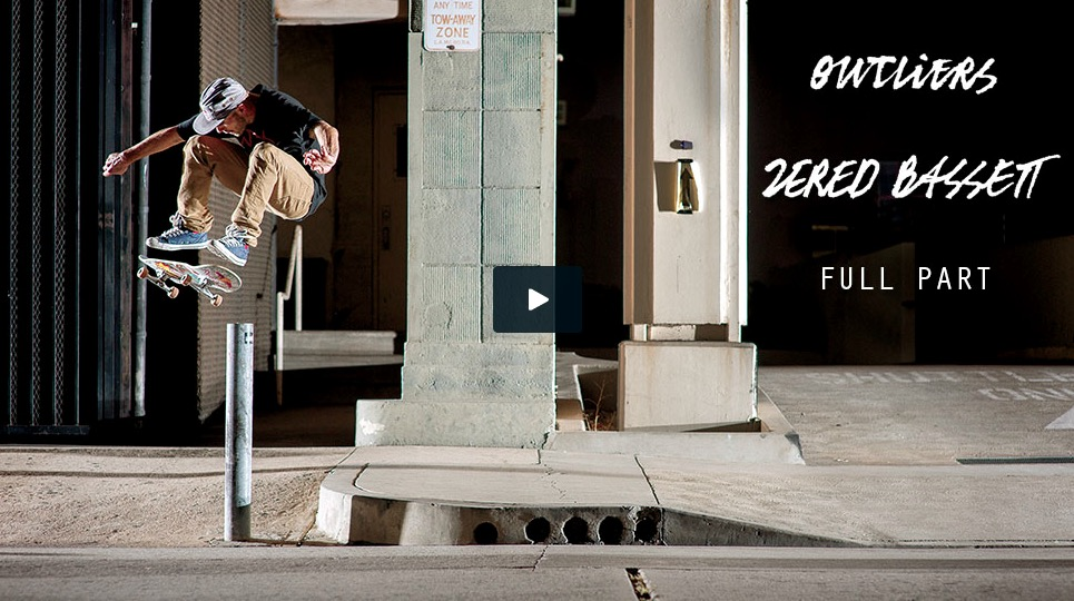 "Zered Bassett ""Outliers"" Part (2015)"