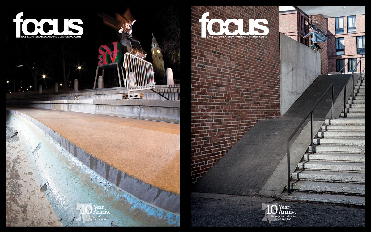 East Coast Skate Mag FOCUS – Final Issue (2015)