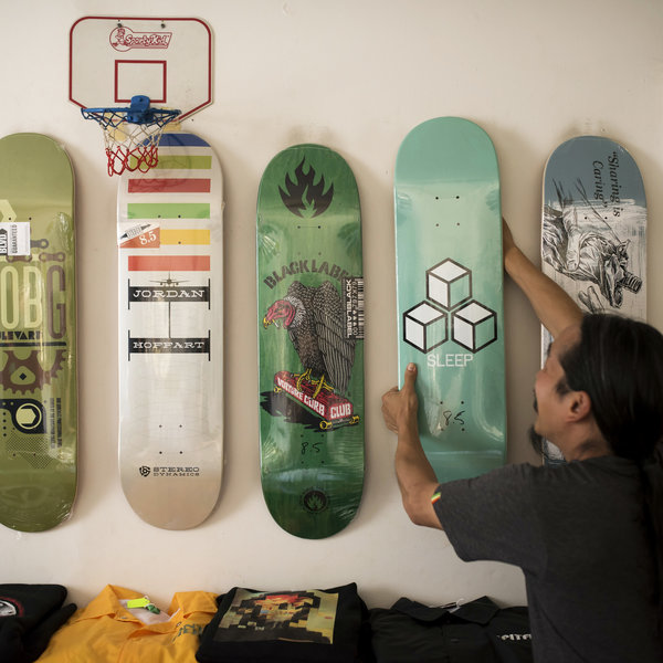Terminal Skate Shop in New York Times (2015)