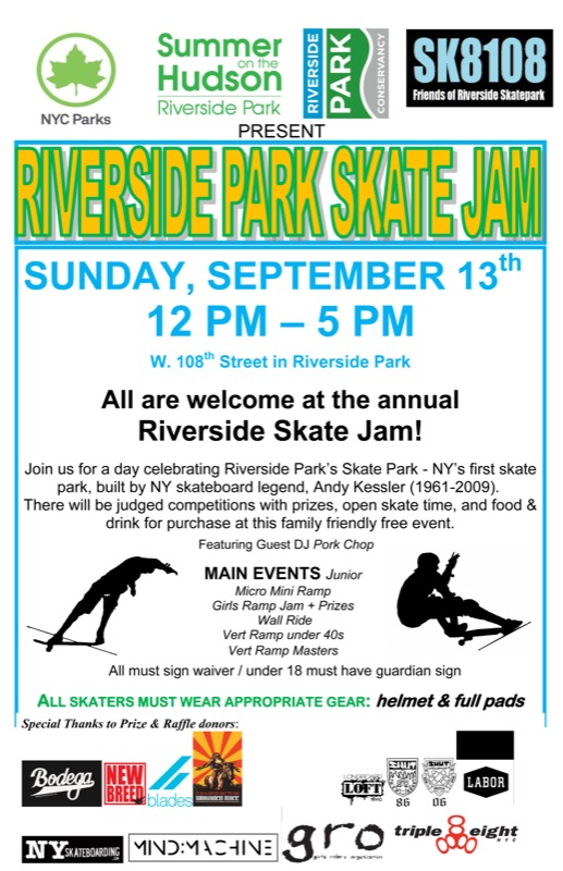 Today: Riverside Skate Jam (2015)
