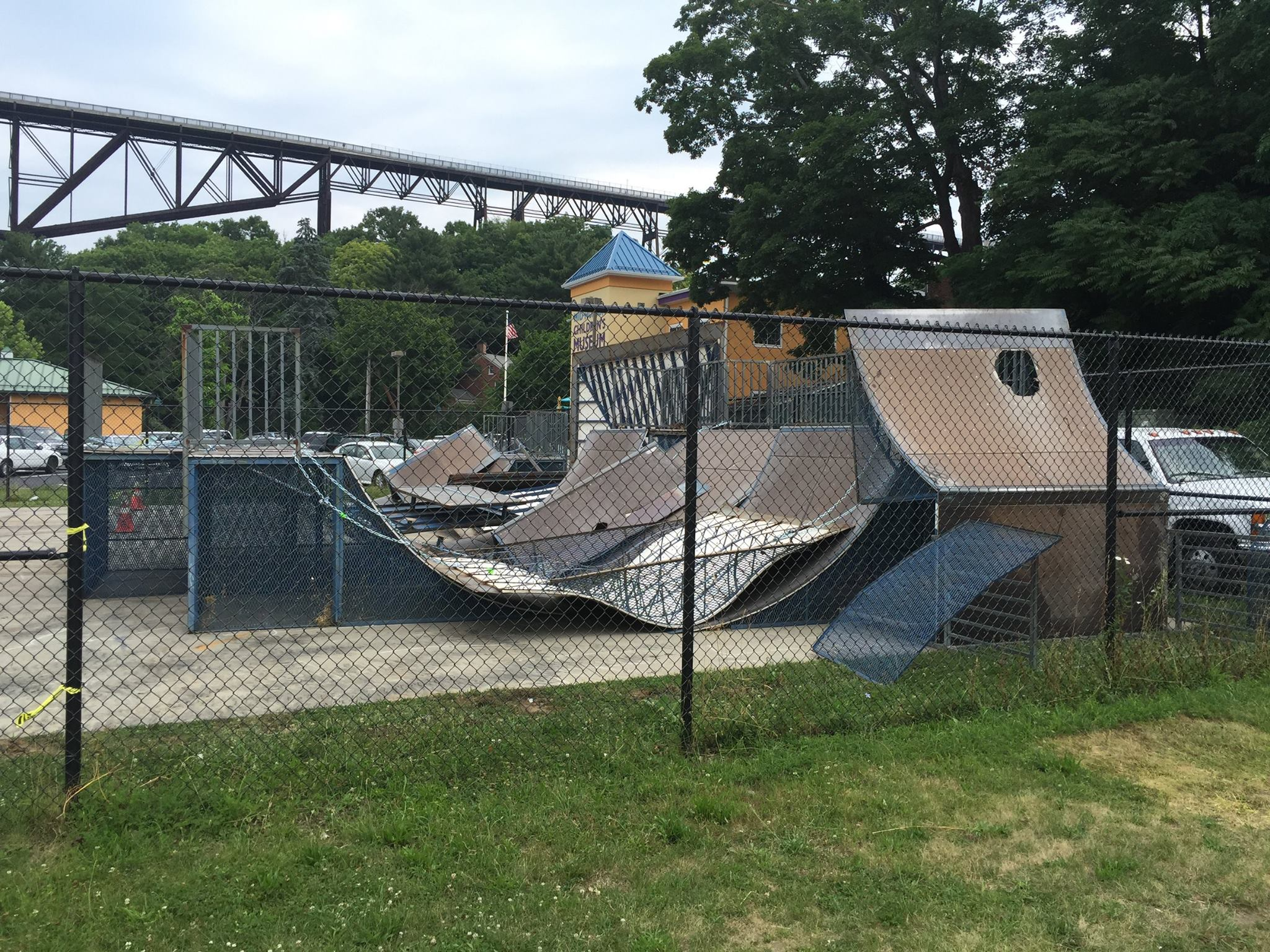 Today: Push Poughkeepsie To Rebuild Waryas Skatepark (2016)
