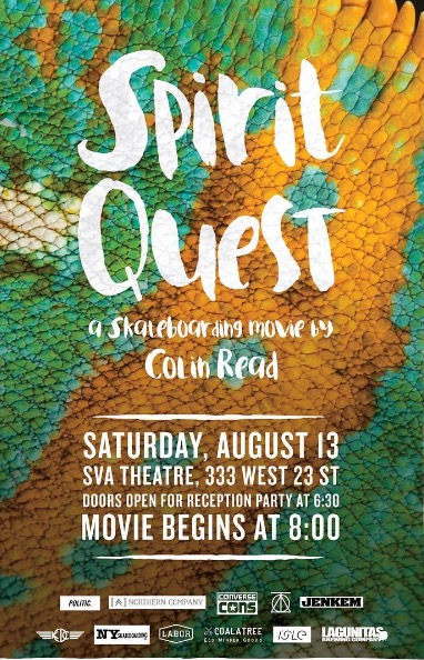 "Colin Read's ""Spirit Quest"" Premieres in NYC Tomorrow (2016)"