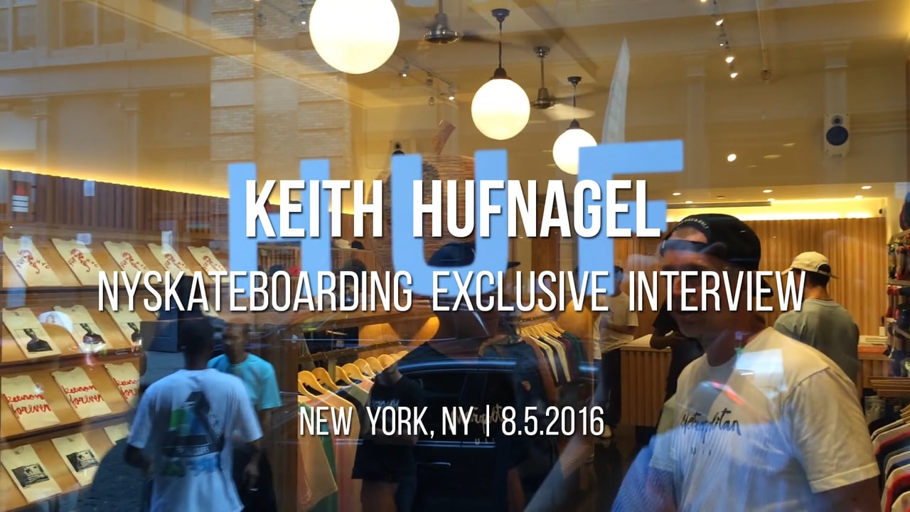 Exclusive Interview: Keith Hufnagel – Part 3 (2016)