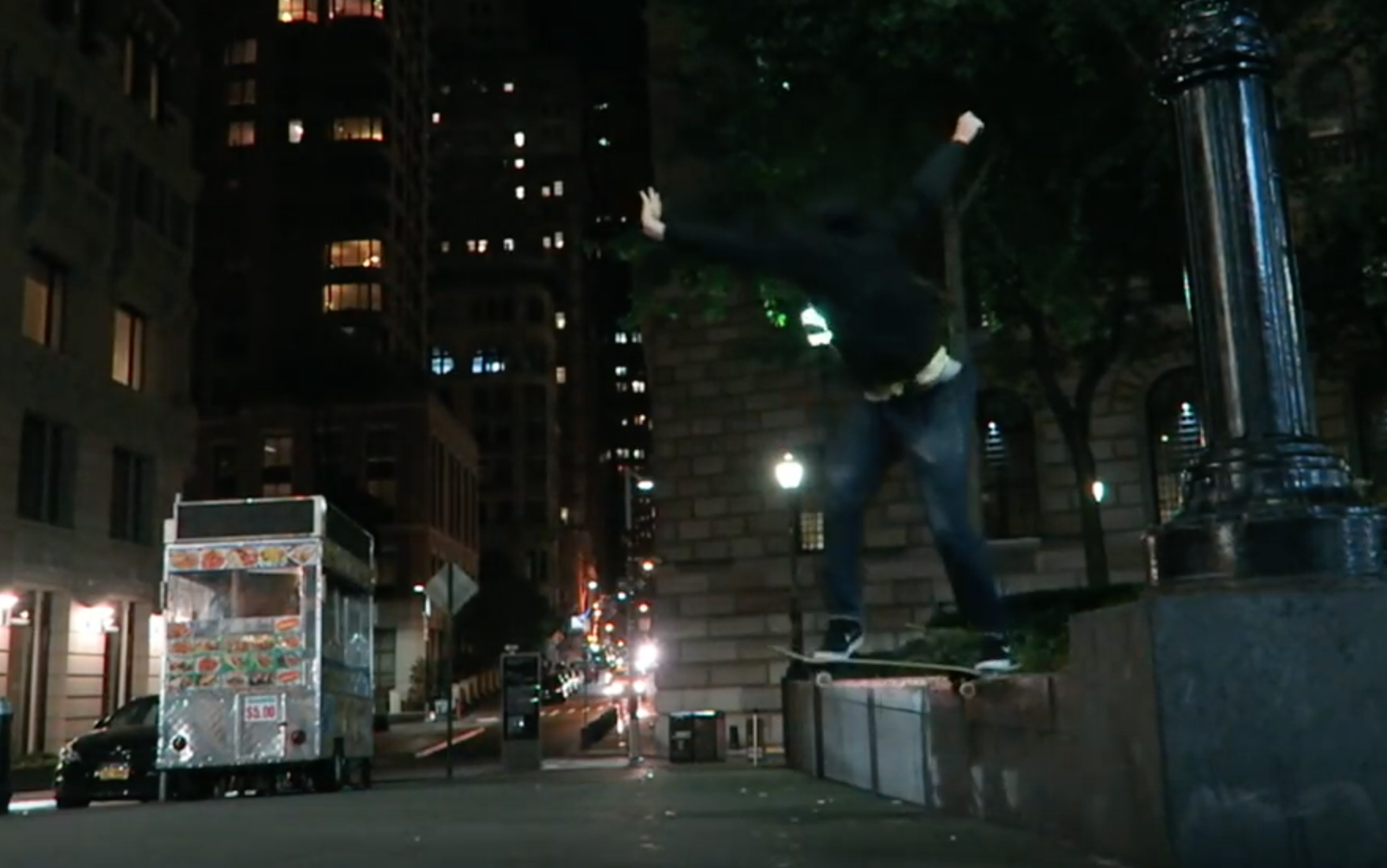 NYC Night Skating via Brett Conti (2016)