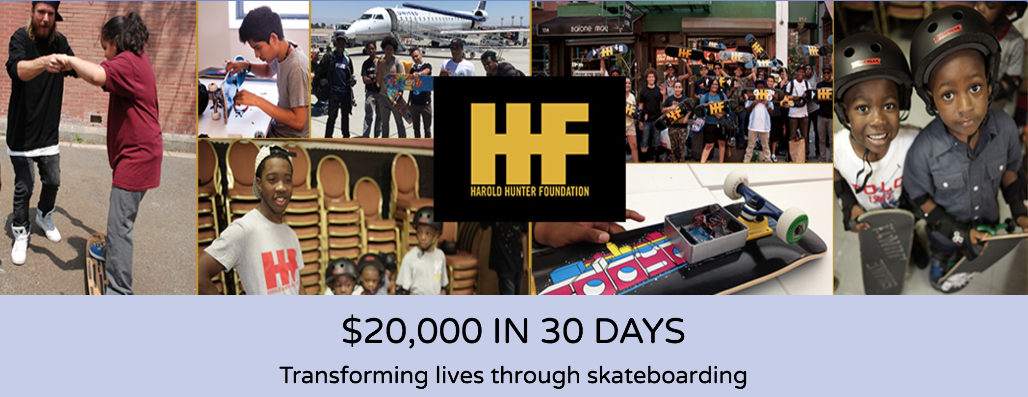 Harold Hunter Foundation Crowdfunding Campaign (2016)