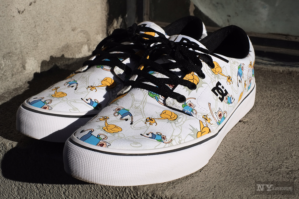 Mailbox Monday: DC Shoes Trase x Adventure Time collab (2016)