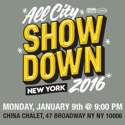 Labor x Converse: All City Showdown NYC @ China Chalet | New York | New York | United States