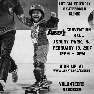 [NJ] Autism Friendly Skate Clinic @ Convention Hall | Asbury Park | New Jersey | United States