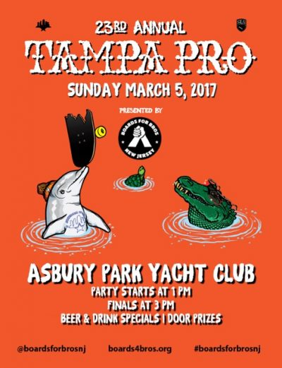 [NJ] Tampa Pro Viewing Party @ Asbury Park Yacht Club | Asbury Park | New Jersey | United States
