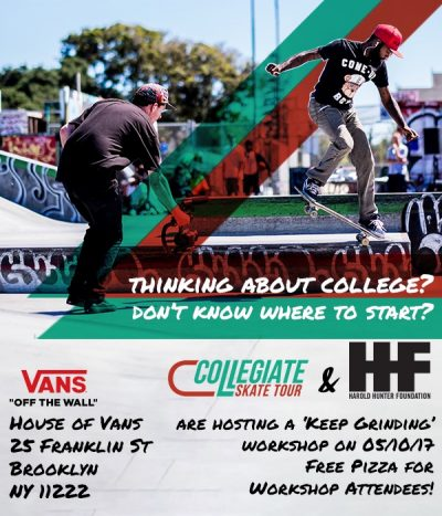 """Going to College"" Workshop at House of Vans @ House of Vans 