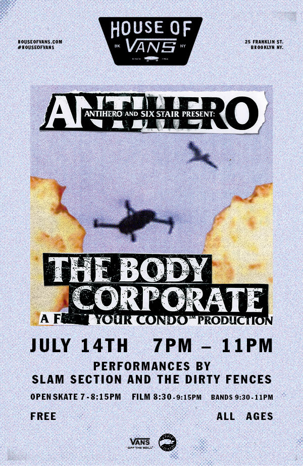 "Tonight: Anthihero ""The Body Corporate"" Video Premiere (2017)"