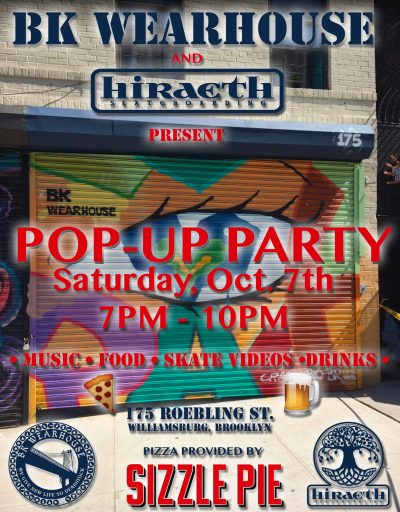 BK Wearhouse x Hiraeth Pop-Up Party @ BK Wearhouse | New York | United States