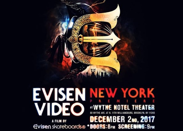 Evisen Video Premiere Announced