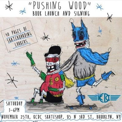 """Pushing Wood"" Book Launch & Signing @ KCDC 