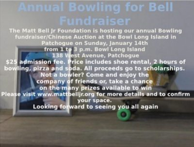 Annual Bowling for Bell Fundraiser @ Bowl Long Island | Patchogue | New York | United States