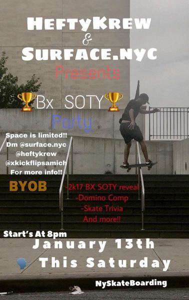 BX SOTY Party @ DM @surface.nyc for location info