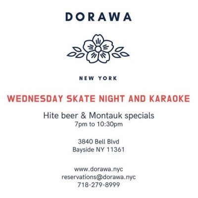 DORAWA Skate Night & Karaoke @ DORAWA | New York | United States