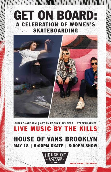 Get On Board: A Celebration of Women's Skateboarding @ House of Vans | New York | United States