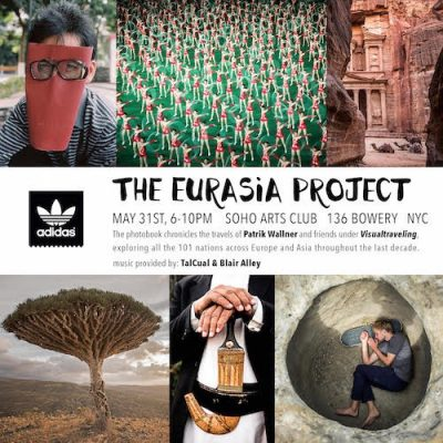 HHD Weekend: The Eurasia Project Book Release Party @ SoHo Arts Club | New York | New York | United States