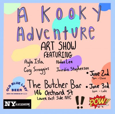 """A Kooky Adventure"" Art Show @ The Butcher Bar 