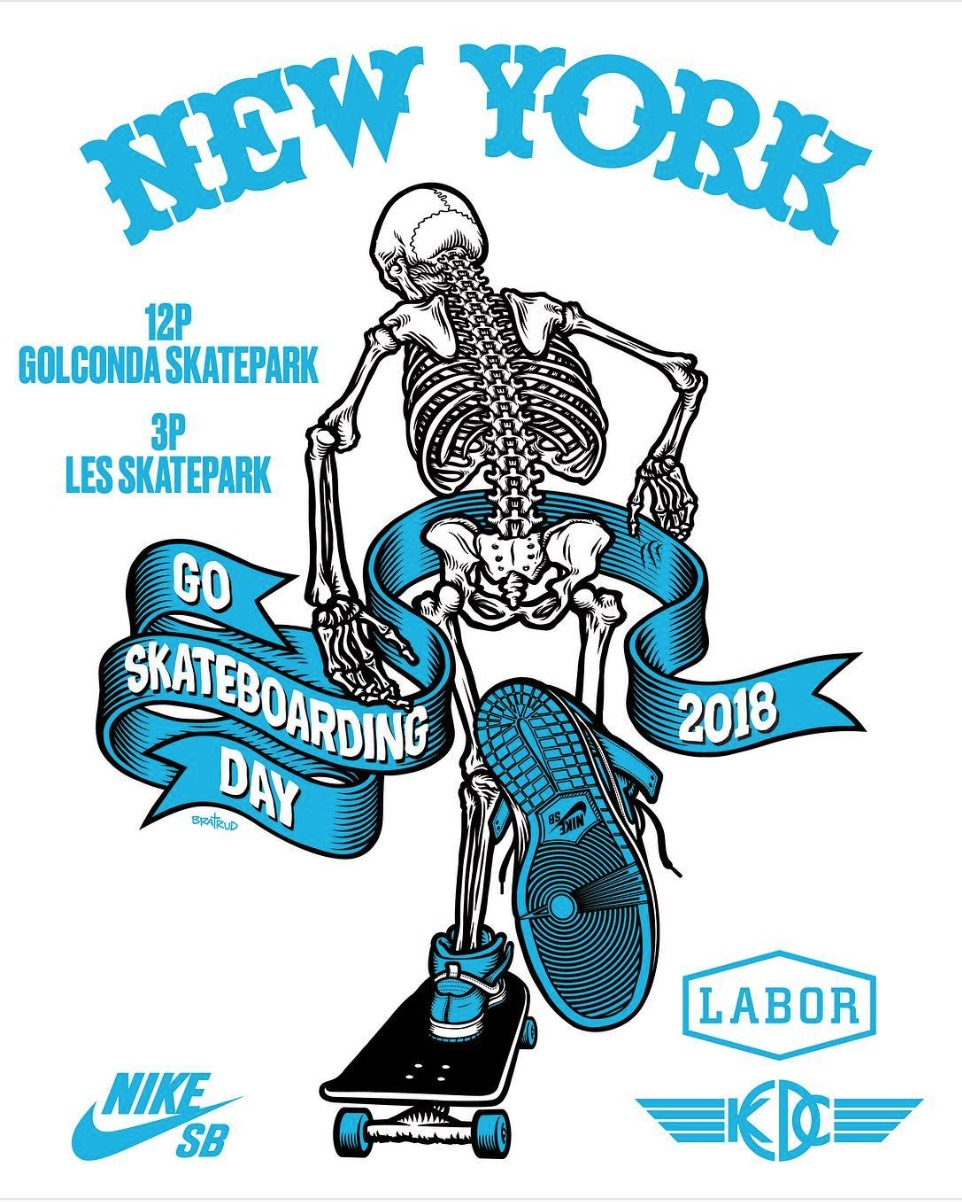 Go Skateboarding Day Events in NYC (2018)