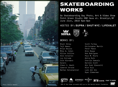 Skateboarding Works - Photo, Art & Video Show @ Point Green Studio | New York | United States
