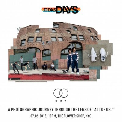 DAS DAYS 3MC With Creators Photo Exhibition - adidas Skateboarding @ The Flower Shop | New York | New York | United States