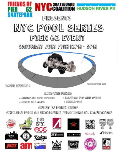 NYC Pool Series at Pier 62 @ Pier 62 Skatepark | New York | New York | United States