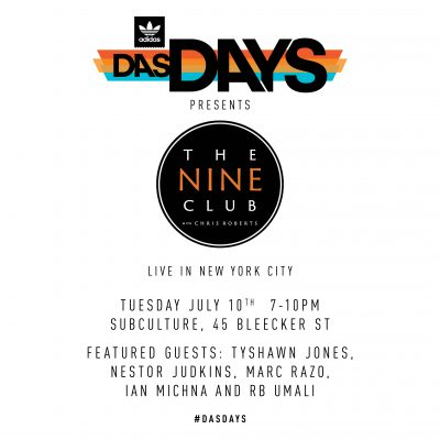DAS DAYS Nine Club Live in NYC - adidas Skateboarding @ Subculture | New York | New York | United States