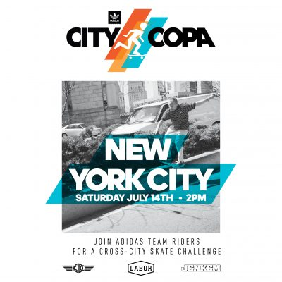 DAS DAYS City Copa NYC - adidas Skateboarding
