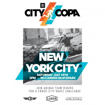 DAS DAYS City Copa McCarren - adidas Skateboarding @ McCarren Skatepark | New York | United States