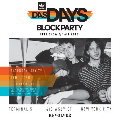 DAS DAYS Block Party - adidas Skateboarding @ Terminal 5 | New York | New York | United States