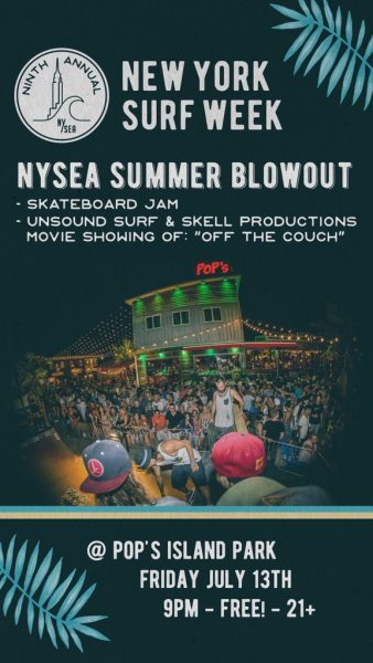 New York Surf Week - Skate Jam @ Pop's Island Park | Island Park | New York | United States