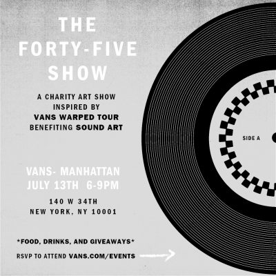 Vans - The Forty-Five Show @ Vans (Manhattan) | New York | New York | United States