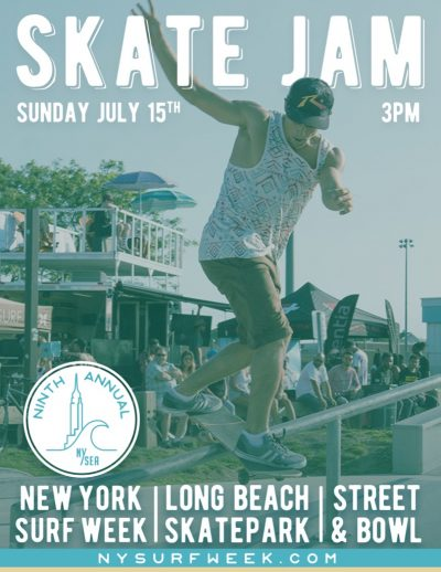 New York Surf Week - Long Beach Skate Jam @ Long Beach Skatepark | Long Beach | New York | United States