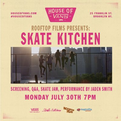 Skate Kitchen Screening @ House of Vans | New York | United States
