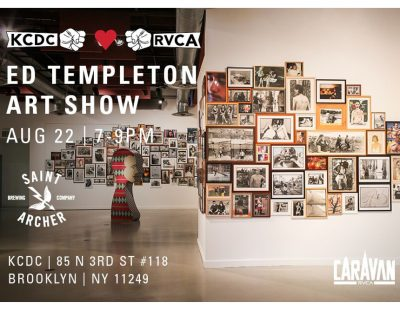 KCDC x RVCA - Ed Templeton Art Show @ KCDC | New York | United States