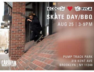 KCDC x RVCA - Skate Day BBQ @ Pump Track Park | New York | United States