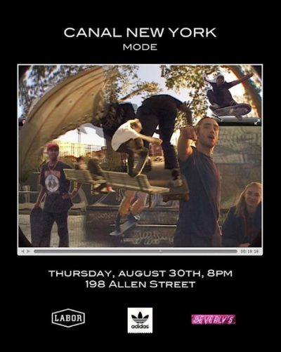 "Canal New York ""Mode"" Video Premiere @ Beverly's 