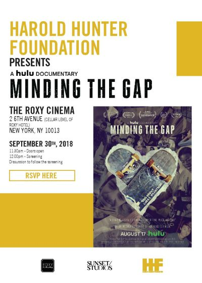 """Minding the Gap"" Screening @ The Roxy Cinema 