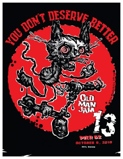 Old Man Jam 13 @ Pier 62 Skatepark | New York | New York | United States